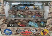 Disney Parks Pixar Racers Collectible Cars Gift Set New In Box