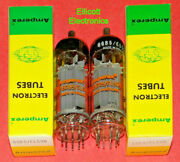 Matched Pair Super Nice Amperex El500/6gb5 Nos Linear Amplifier Rf Power Tubes