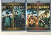 Harry Potter Years 1 Thru 7 Part 1,2 Blu-ray Disc, 2-disc Sets  Lcm3