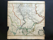078 Antique Original 1745 Map Of Ukraine Extremely Rare By J.tinney And C.mosley