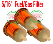 15 5/16 Gas/fuel Filter Industrial High Performance Universal Inline L4
