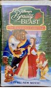 Beauty And The Beast The Enchanted Christmas Vhs 1997 Like New