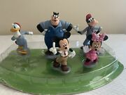 Disney Mickey Mouse Clubhouse Deluxe 5 Pvc Figure Cake Topper Play Set