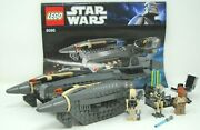 Lego 8095 Star Wars General Grievous Starfighter 3 Minifigs Complete Instruction