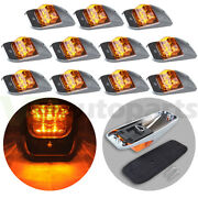 11x Yellow 10.8 7diodes Led Car Cab Marker Roof Lights For Truck Mack Sealed