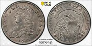 1832 50c Small Letters Capped Bust Silver Half Dollar Pcgs Au 50
