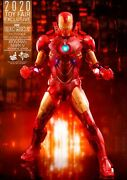 Iron Man Mark Iv Holographic Version Hot Toys Sdcc 2020 Toy Fair Exclusive