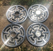 Chevy Square Body 4x4 Truck 15 Hubcaps Set Of 4 K10 Wheel Covers 1/2 Ton