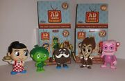 Funko Mystery Minis Ad Icons Lot Of 5 Figures - Sprout Big Boy Frankenberry