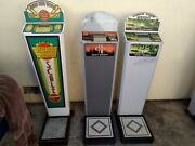 6 Impulse Arcade Vending Coin Operated Scale Lot 1