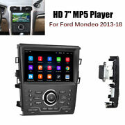 Car Stereo Android Car Radio For Ford Mondeo 7'' Lcd Touch Screen Double Din Gps