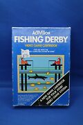 Activision Fishing Derby Complete Game In Box