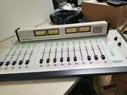 Arrakis 15 Channel Broadcast Mixer Console Arc-15 - For Parts Or Repair