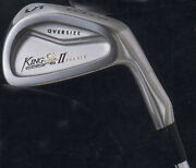 = Nibnew In Box Golden Oldie 1998 Cobra King Cobra Ii Forged 3-pw Steel Rh-s