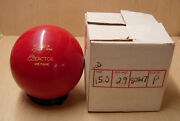 15.0 Tw 2.9 Star Trak West 1988 Reactor Urethane Bowling Ball Red Solid