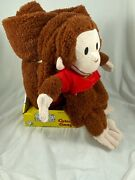 My Pet Blankie 3 In 1 Brown Curious George Blanket Pillow Plush Toy Brand New