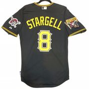 Willie Stargell Authentic 48 Xl Pittsburgh Pirates Majestic Cool Base Jersey
