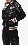 Lace Bomber Jacket-with Tags- Rrp3100 Aud