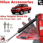 Toyota Hilux Tailgate Damper Assist Gas Strut 2004-2015 No Drilling Easy Install
