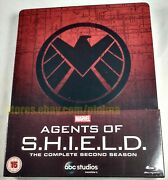 Marvel Agents Of Shield The Complete Second Season Brand New Blu-ray Steelbook 2