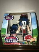 Mandmand039s Red White And Blue Freedom Rider Motor Cycle Candy Dispenser Mars Cib
