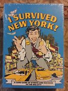 Factory Sealed I Survived New York Card Game Vintage 1981 Brand New Board
