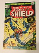 Shield [nick Fury And His Agents Of Shield] 1 Feb 1973, Marvel
