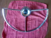 1962 Ford Horn Ring Fairlane 500 Falcon C0df-13a800-a Oem 18929 60025 70a198