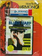 Hohner How To Play Blues Harp Instantly Book/dvd Hohner Harmonica Sealed New