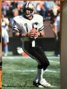 1983 Ken Stabler New Orleans Saints Poster Si Sports Illustrated Like Photo