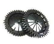 Pair Wheels Sprockets With Claw Original Ambrogio For Robot L300 L200r Elite