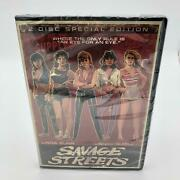 New - Savage Streets Dvd, 2008, 2-disc Set, Special Edition