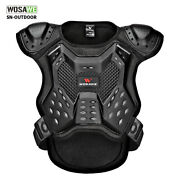 Youth Motorcycle Armored Jacket Spine Chest Protector Moto Motorbike Body Guards