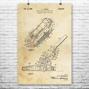 Howitzer Cannon Poster Print Artillery Wall Art Munitions Technician Army Gifts