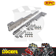 Rpc Polished Alum Wire Looms Fits Spark Plug Wires Up To 9.5mm Sb/bb - Rpcr6038