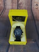 Mens Swiss Combat Sea Spider 50mm Chronograph Stainless Steel Watch