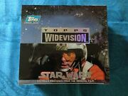 Star Wars Widevision Trading Cards Box - Factory Sealed - Topps