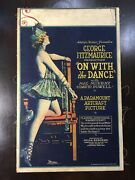 On With The Dance - Mae Murray 1920 Us Window Card Movie Poster Lb