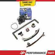 Timing Chain Kit Water Pump Fit 12-16 Toyota Camry Hybrid Lexus Es300h 2.5 2arfe