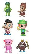 Funko Mystery Minis It Lot Of 6 Green Giant / Count Chocula / Big Boy / Lucky