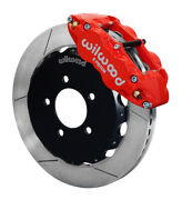 Wilwood Narrow Superlite 6r Front Hat Kit 12.88in Red For 06-20 Civic / Crz