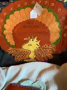 Pottery Barn Kids Peanuts Thanksgiving Woodstock Count Down Advent Calendar Nwt