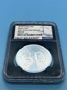 2018 Canada S5 Ngc Maple Leaf 30th Anniv-first Releases Ms-69