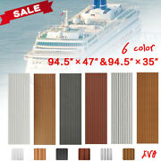 Marine Flooring Faux Teak Eva Foam Boat Decking Sheet 35x95and039and039/47x95and039and039