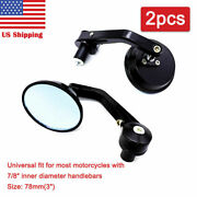 Cnc Cafe Racer Parts Motorcycle Side Mirror Bar End Motorbike Rear View Mirror