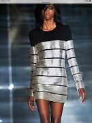 Tom Ford Silver Laser Chain Dress- Brand New With Tags- Rrp11,300 Aud
