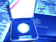 1994 W World Soccer Cup Usa Gold 5 Coin Mint Proof