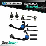 Control Arm + Tie Rod + Ball Joint + Sleeve For Ford F-150 Heritage F-250 2wd