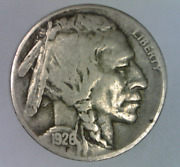 1926 D Buffalo Nickel Very Fine Five Cents United States Bison 5 C S