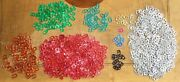 1200+ Aluminum Can Tabs Lot 14 Different Types Green Red Bronze Gold Black